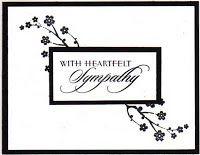 Delicious Art: Sympathy Card
