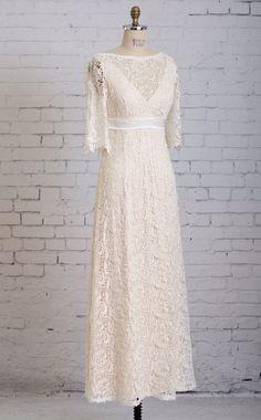 Backyard Wedding Dress Casual Wedding Dress by MartinMcCreaCouture