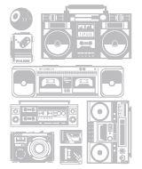 radios - blik wall art