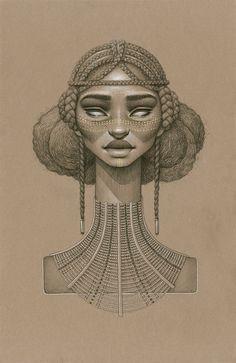 Sarah Golish -  Sundust : dix magnifiques portraits représentant des déesses du soleil