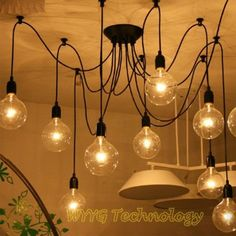Contemporary-Chandeliers-Pendant-Ceiling-6-Lights-Hanging-Loft-Industrial-Lamp