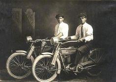 William HARLEY ve Arthur DAVIDSON, 1914