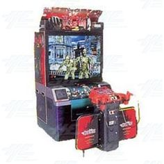 House of the Dead 2 DX Arcade Machine Arcade Console, Parlor Games, Mini Arcade, Future Games, Gaming Merch, Vending Machines, Arcade Machine, Shooting Games, School Games