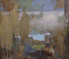 by Alexander Zavarin Abstract Landscape Painting, Landscape Art, Landscape Paintings, Abstract Art, Russian Landscape, Russian Painting, Russian Art, Art And Illustration, Tree Art