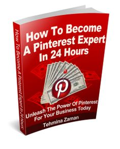 """Free Ebook Teaches """"How To Become A Pinterest Expert In 24 Hours"""" www.Epreneur.TV"""
