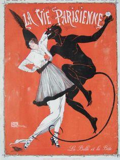 hoodoothatvoodoo:  La Vie Parisienne 1929