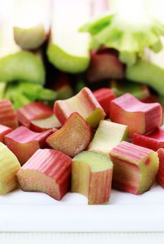 CHEFS In Season About Rhubarb: Rhubarb Recipes, Tips, Information and more from CHEFS Catalog.