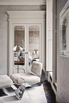 Joseph Dirand's Italy-Inspired Paris Digs |  Photo by Simon Watson via T Magazine.