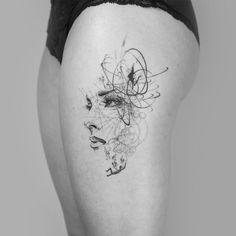 mowgli contemporary tattoos