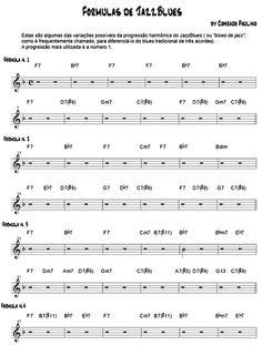 Progressões harmônicas de Jazz-Blues