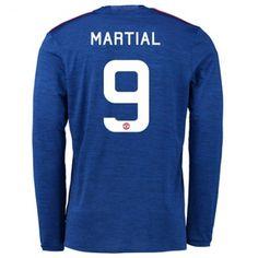 Manchester United 16-17 Anthony #Martial 9 Udebanesæt Lange ærmer,245,14KR,shirtshopservice@gmail.com