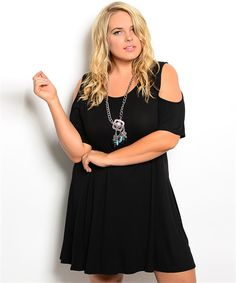 OUR LITTLE BLACK DRESS NOW AVAILABLE IN PLUS SIZE TOO!
