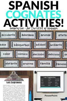 Back to School Spanish Activities