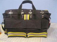 Firefighter Overnight Bag / Carryon / Diaper Bag / by QuiltingByKC, $350.00