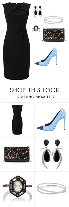 """""""#Black"""" by empresspeq ❤ liked on Polyvore featuring interior, interiors, interior design, home, home decor, interior decorating, Adrianna Papell, Yves Saint Laurent, Jorge Adeler and Cathy Waterman"""