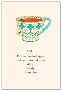 """Inside message: """"May the leaves long keep you healthy & happy. Happy Birthday"""" Perfect card to celebrate January's Hot Tea Month Tea Quotes, Life Quotes, Food Lover Quotes, Symbols And Meanings, Cuppa Tea, My Cup Of Tea, Meaning Of Life, Birthday Cards, Happy Birthday"""