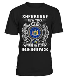 Sherburne, New York - My Story Begins