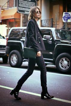 Street style gafa redonda