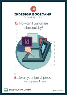 InDesign Training Tip #1 How to customise a box in Indesign CC