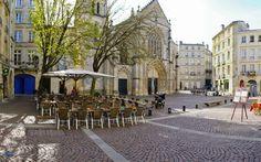 """""""Place Saint-Pierre"""" in the city center // #Bordeaux #Church #Terrace"""