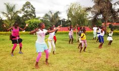 Children of Uganda's 2014 Tour of Light: Dreams in the Making ~ 2014 Tour of Light Training