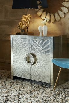 Love this glam console