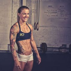 Easy Eating Formula For Getting Rid of Body Fat With abs like these, CrossFit star Christmas Abbott shares exactly how she ditched belly cellulite.With abs like these, CrossFit star Christmas Abbott shares exactly how she ditched belly cellulite. Fitness Workouts, Fitness Motivation, Fitness Goals, Female Motivation, Core Workouts, Workout Tips, Fitness Quotes, Motivation Quotes, Full Body Workouts