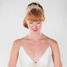 Vintage Inspired Headband with Embellished by prestonandolivia, $195.00