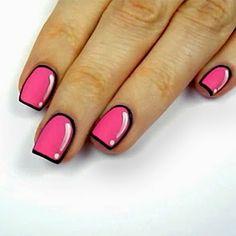 Diseños en uñas. Totalmente nueva esta moda, uñas como caricaturas!