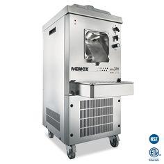 Nemox Gelato 12k Professional Ice Cream Machine – Mini PC Caffe Gelato Machine, Gelato Maker, Ice Cream Mix, Make Ice Cream, Commercial Ice Cream Machine, Commercial Catering Equipment, Dessert Makers, Stainless Steel Bowl, Espresso Machine