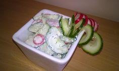 Osvěžující okurkovo-ředkvičkový salát s koprem