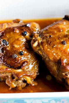 Chicken leg adobo recipe