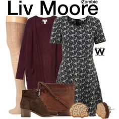 Wear What You Watch • Inspired by Rose McIver as Liv Moore on iZombie -...