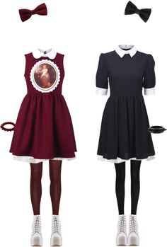 """""""Twins"""" by twisted-candy on Polyvore"""