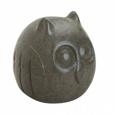 Owl Stone Paperweight