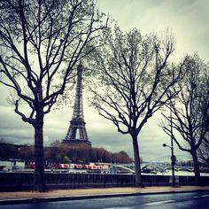 Today, Paris in the rain.. ☁️☁️.