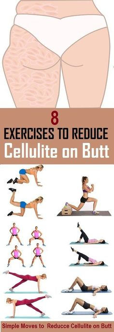 8 Most Effective Exercises to Reduce Cellulite on Butt - stylecrown.us-Cellulite the most feared enemy of women, occurs in most women and do not take in to account the weight or age. back exercises is (Outer Leg Workout) Fitness Workouts, Fitness Motivation, Sport Fitness, Butt Workout, Fitness Diet, Fitness Goals, At Home Workouts, Health Fitness, Fitness Shirts