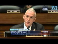 Trey Gowdy Is Obama's Worst Nightmare JANUARY 9, 2015  What a Intelligent, Respectful, Awesome Man!!!!!!!!!!!!!