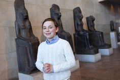 Asher Hurowitz isn't just an old soul — he's an ancient one. The 13-year-old Upper East Sider has been studying the early Egyptians since he was a toddler. Now, the seventh-grader at the Speyer Leg…