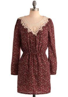 Rosy Predictions Dress