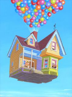 1000+ images about Disney Artist Manuel Hernandez on ... Up House Pixar Drawing