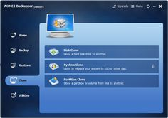 Disk Clone, System Clone and Partition Clone using #Backup #Software AOMEI Backupper http://www.tech-wonders.com/2016/08/review-aomei-backupper-windows-backup-software.html