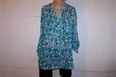 APT. 9 Shirt Blouse Sz S Sheer Snake Print 3/4 Roll Up Sleeves Womens Casual #Apt9 #Blouse #Casual