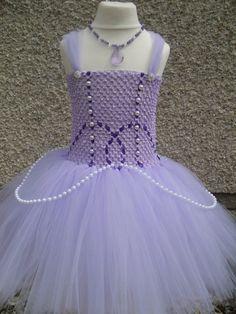 princess sofia tutu dress.