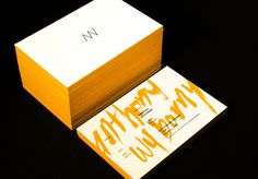 """Anthony Wyborny Business Car"" in Graphic Design // Business Cards"