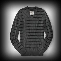 Aeropostale メンズ セーター エアロポステール A87 Striped VNeck セーター-アバクロ 通販 ショップ #ITShop
