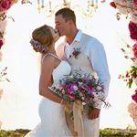 In LOVE with everything about this gorgeous shot!! ✨<br/>.<br/>.<br/>.<br/>Morilee 2871 | #morilee @madelinegardner #love #bride #realbride #morileebride #brideandgroom #floral #inspo #bouquet #bali #destination #wedding #lace #details #weddingdress #dresscometrue  #weddinginspiration