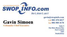 Register on swopinfo