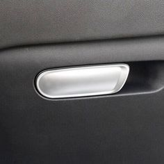 d4009322a070 For Citroen C4 2016 Accessories ABS Chrome Car copilot glove box door bowl  handle Cover Trim car styling -