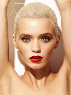 Abbey Lee. She is perfection. Love this make up
